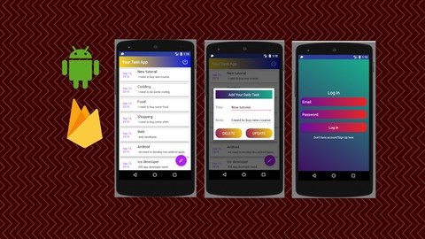 Android Office Task Management App Using Firebase(Real App)