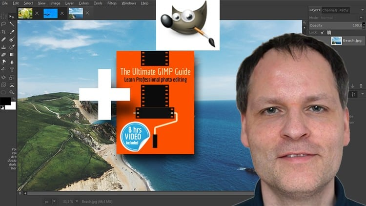 The Ultimate GIMP 2.8 Guide. Book Included As Sold On Amazon